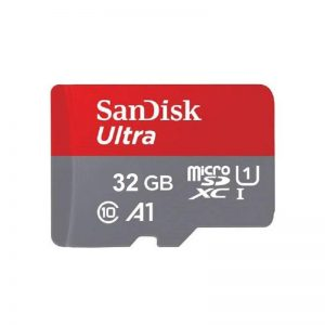 کارت حافظه 32 گیگابایت microSDXC سن دیسک مدل Ultra A1 کلاس 10 استاندارد UHS-I سرعت