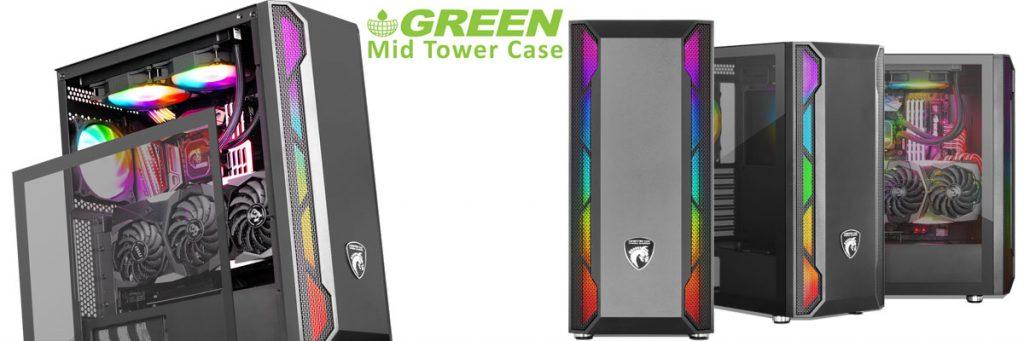 کیس کامپیوتر گرین مدل GREEN GRIFFIN G2 RGB