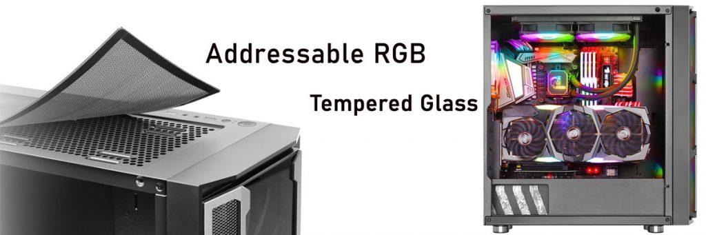 کیس گیمینگ گرین مدل GREEN GRIFFIN G6 RGB